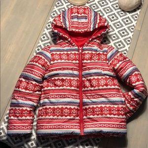 ❄️Gymboree Puffer jacket - kids size S (5-6) - EUC